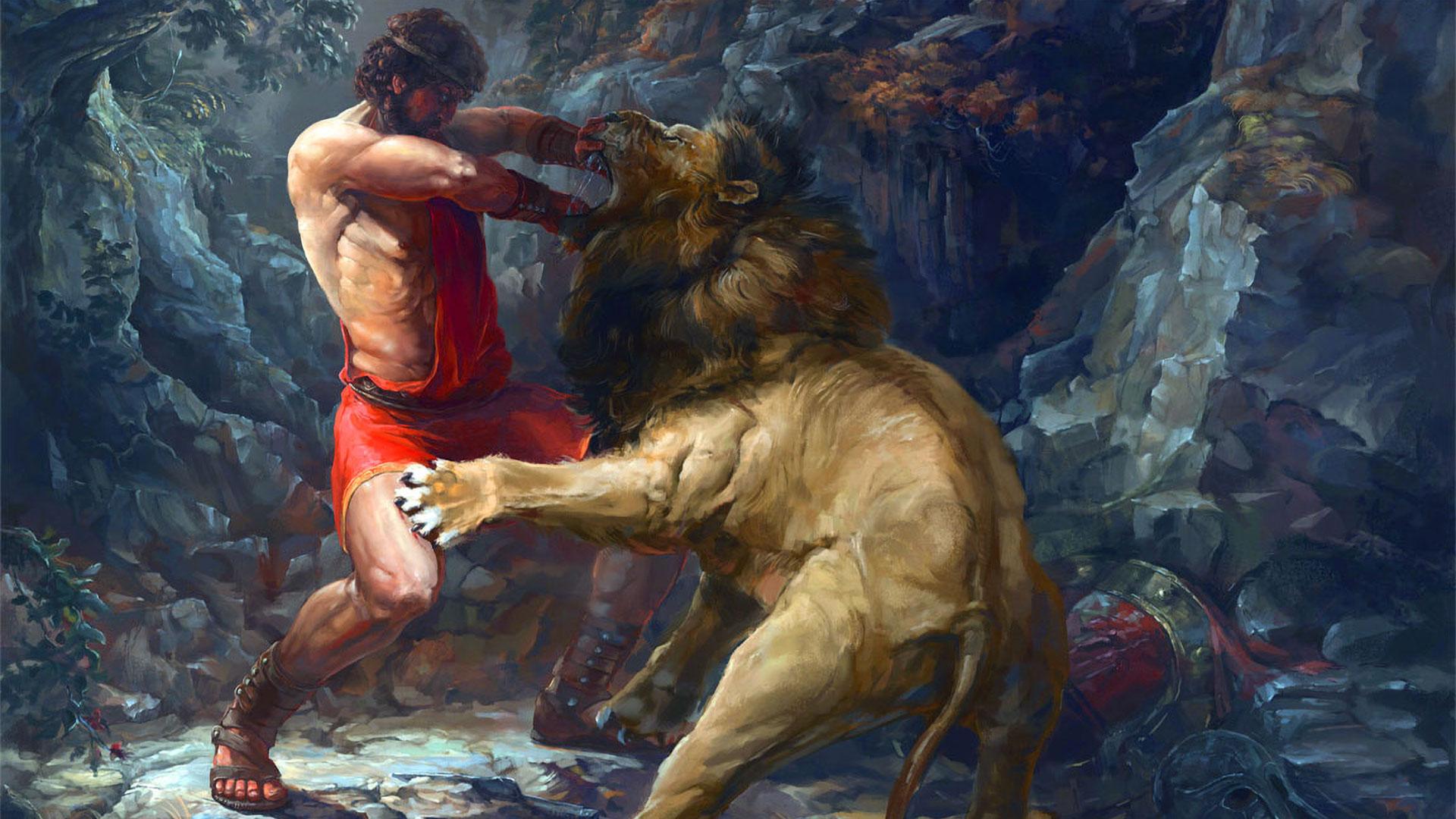 Ercole-contro-il-leone